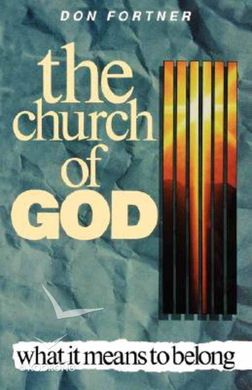 The Church of God Paperback