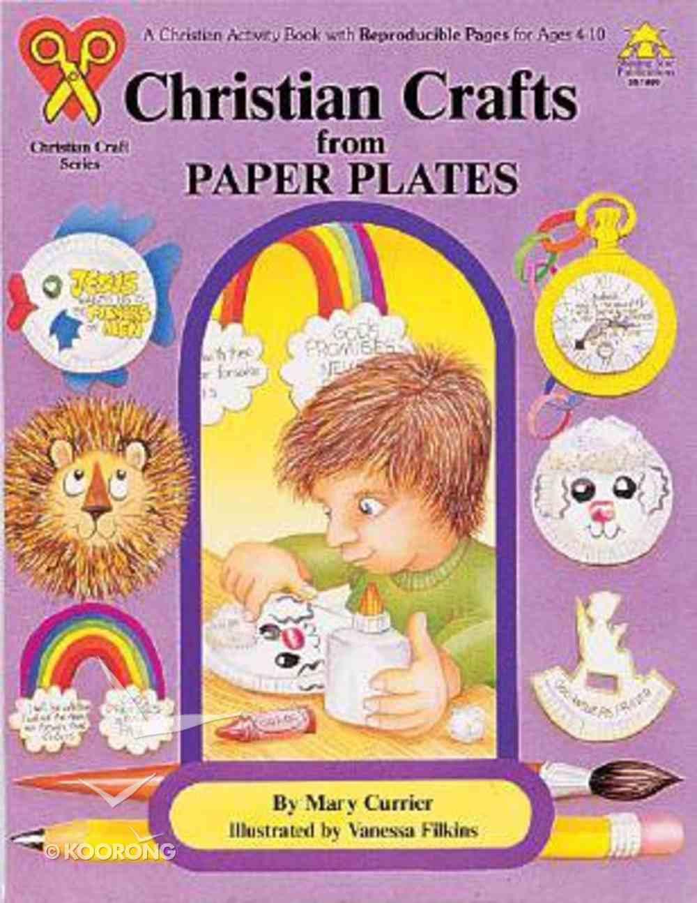 Christian Crafts Paper Plates Paperback