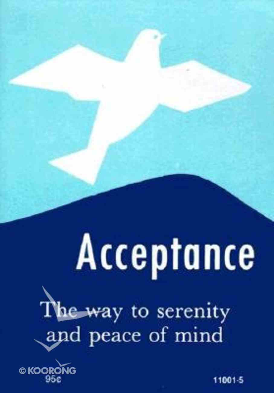Acceptance Paperback