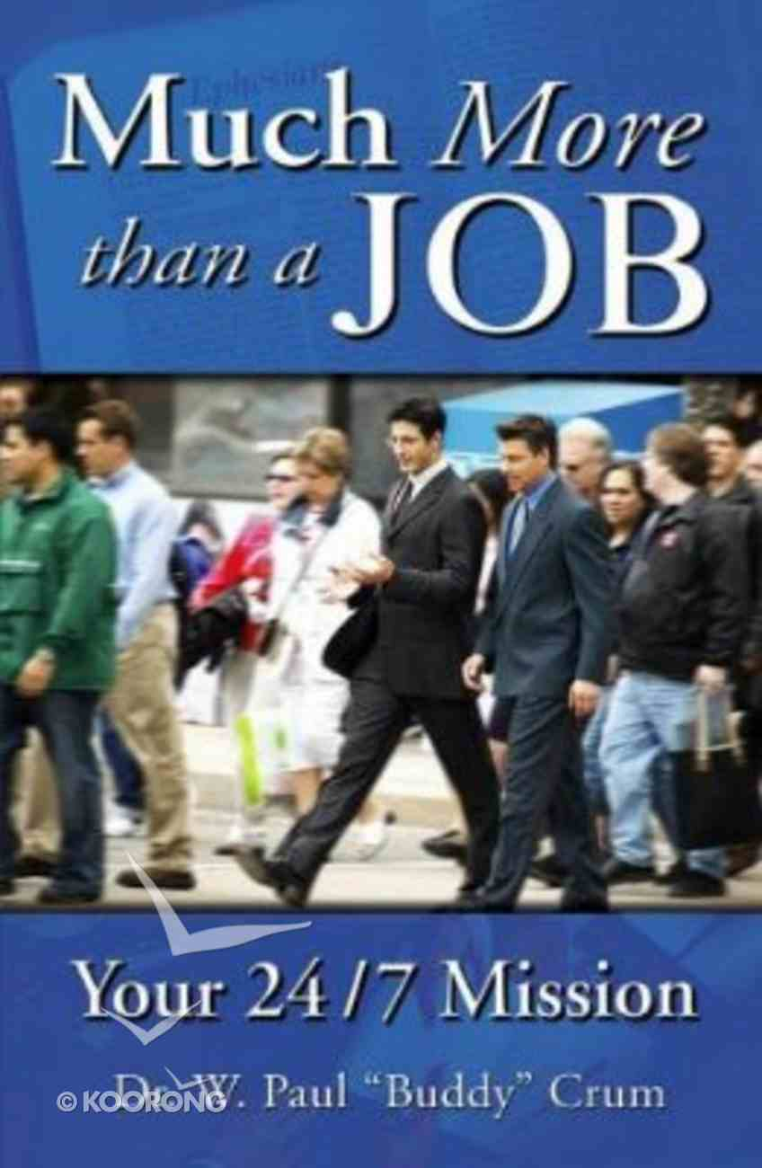 Much More Than a Job Paperback