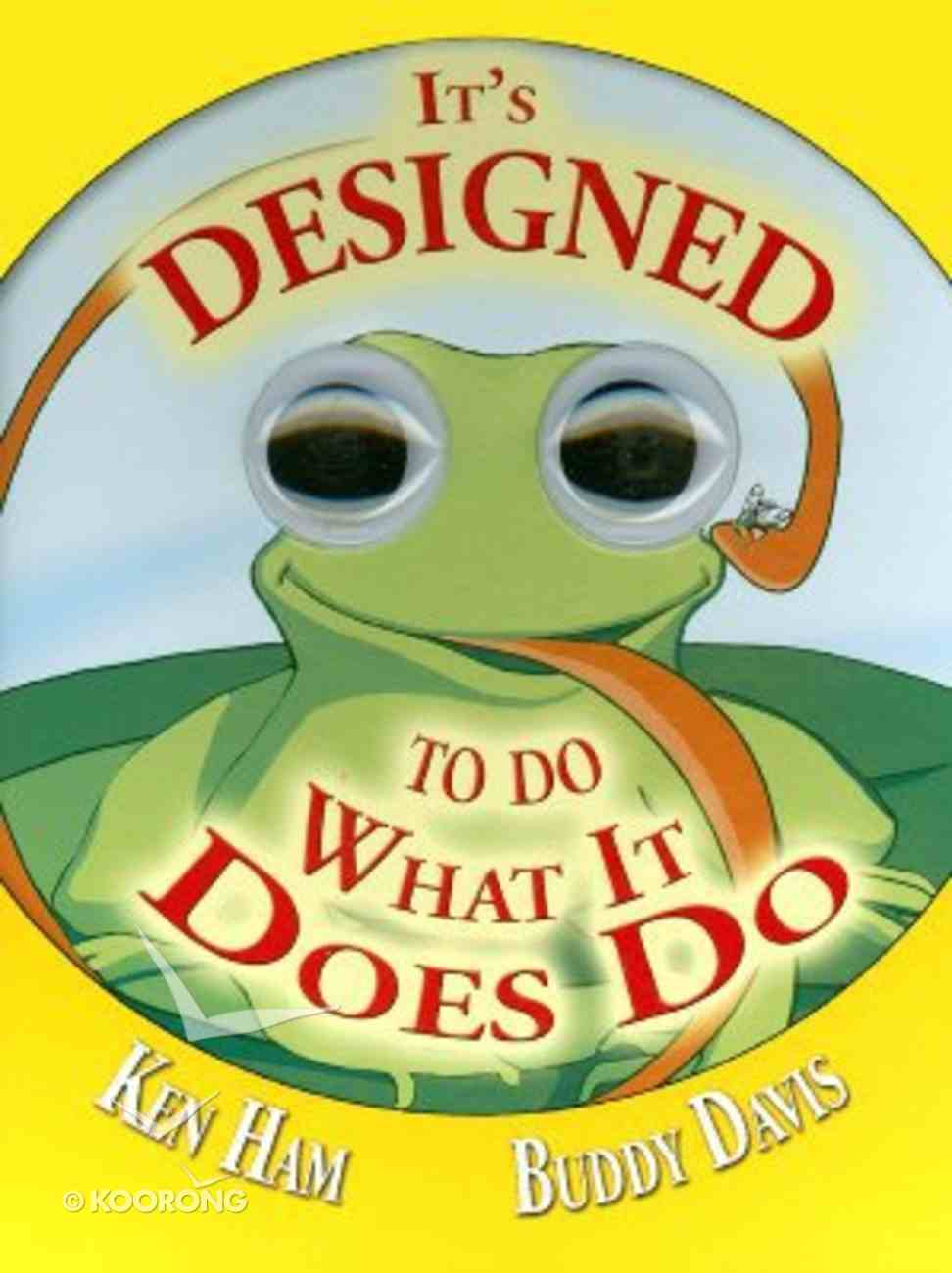 It's Designed to Do What It Does Do Board Book
