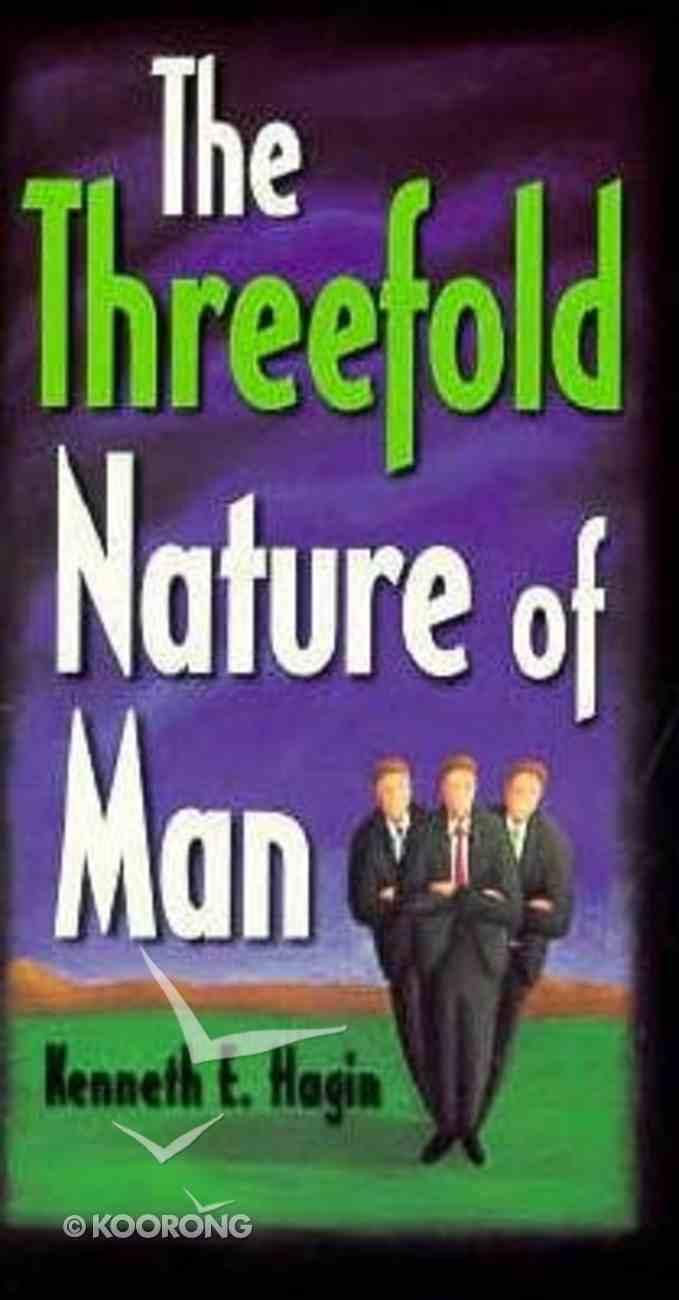 The Threefold Nature of Man Paperback