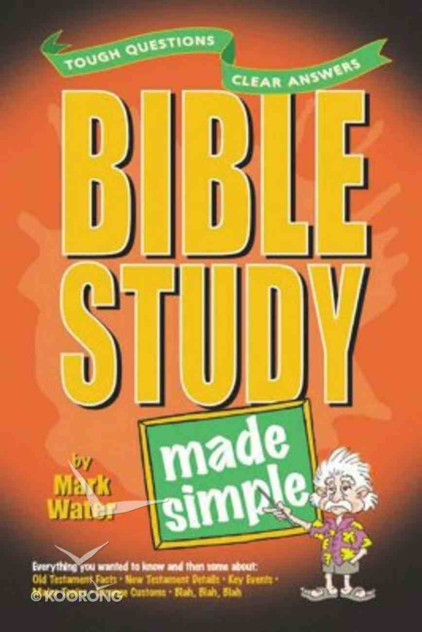 Bible Study Made Simple Paperback