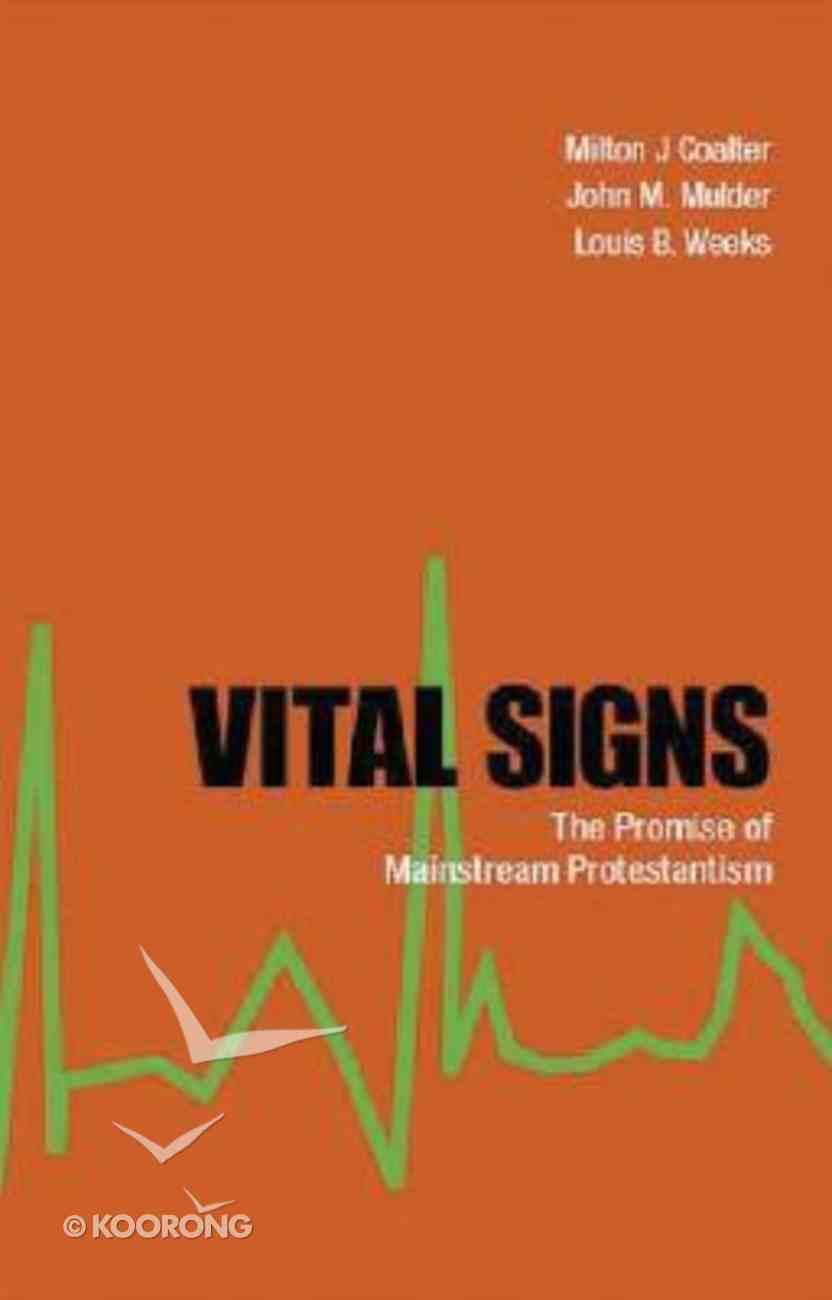 Vital Signs Paperback