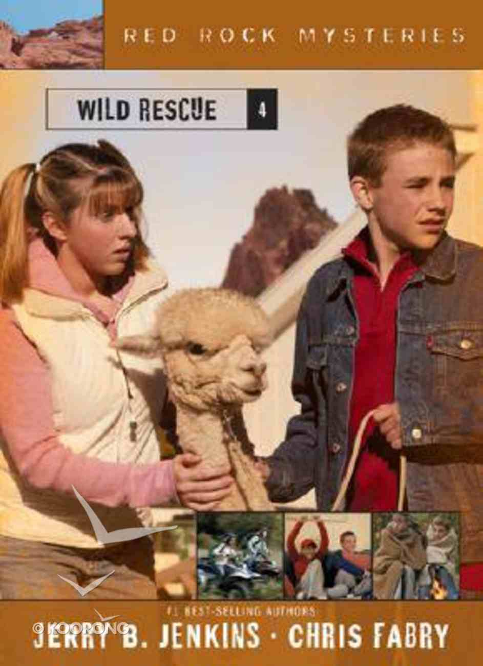 Wild Rescue (#04 in Red Rock Mysteries Series) Paperback