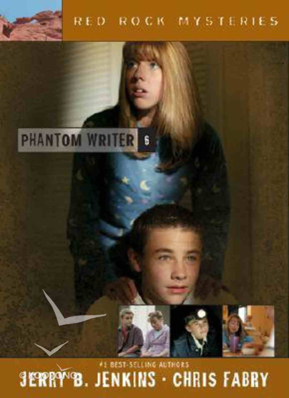Phantom Writer (#06 in Red Rock Mysteries Series) Paperback