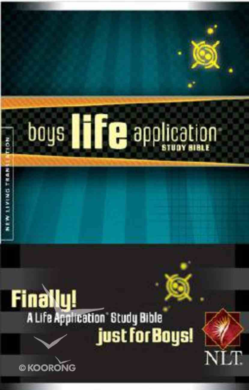 NLT Boys Life Application Study Bible Just For Boys! Paperback