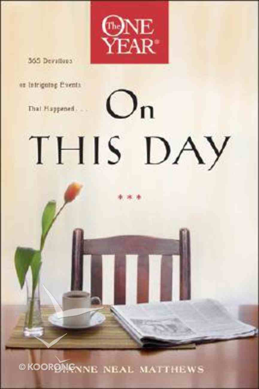 On This Day (One Year Series) Paperback