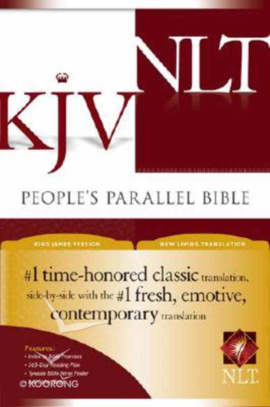NLT KJV People's Parallel Bible (Black Letter Edition) Hardback