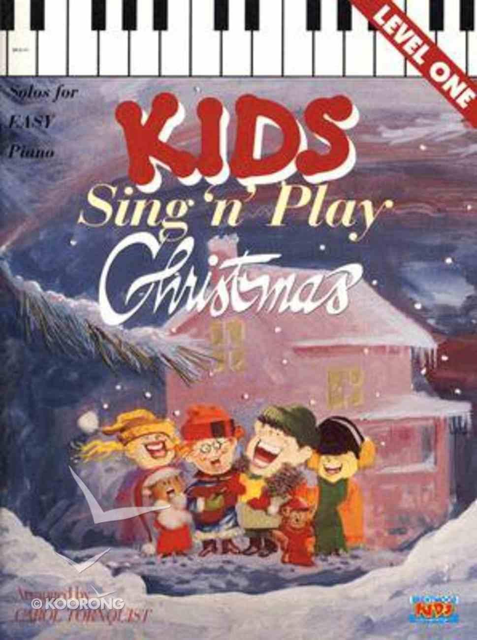 Kids Sing N'play Christmas Book 1 Paperback