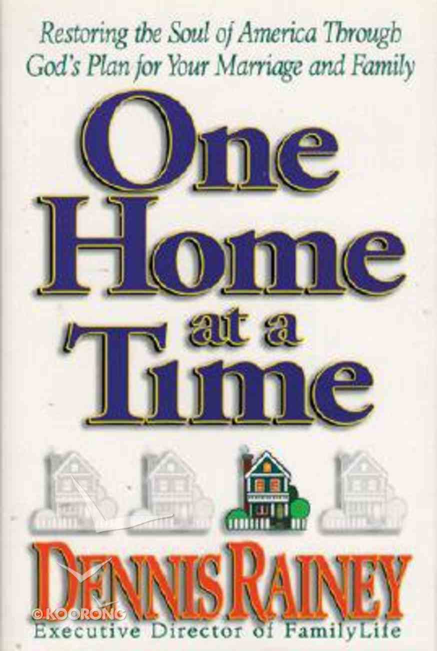 One Home At a Time Hardback