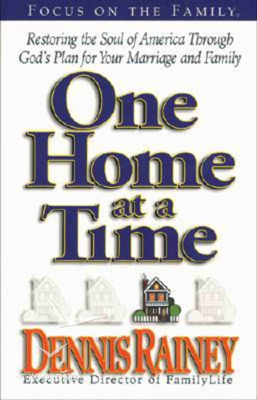 One Home At a Time Paperback
