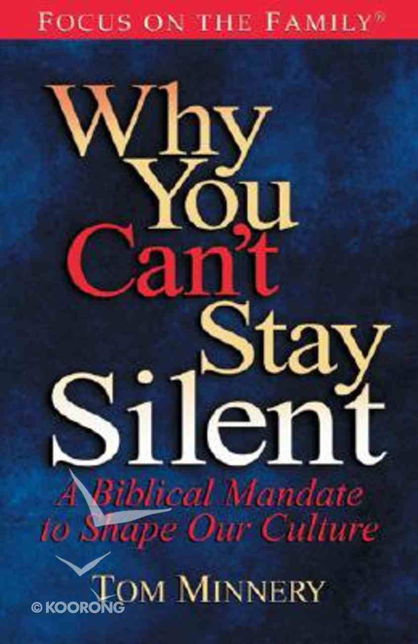 Why You Can't Stay Silent Hardback