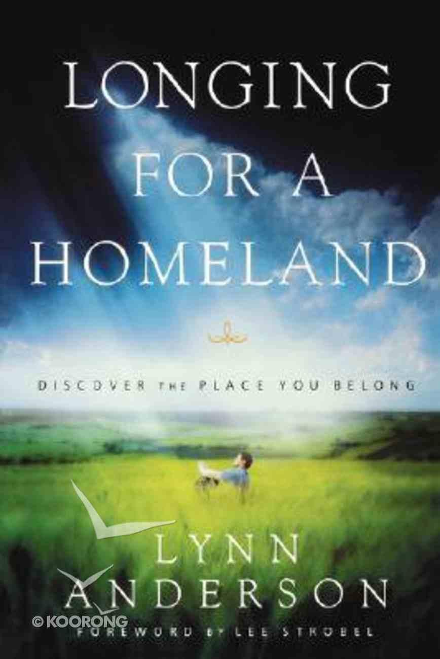 Longing For a Homeland Paperback