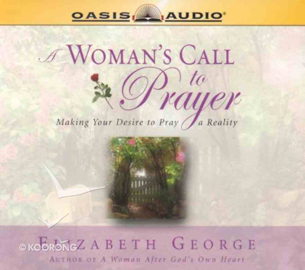 A Woman's Call to Prayer CD