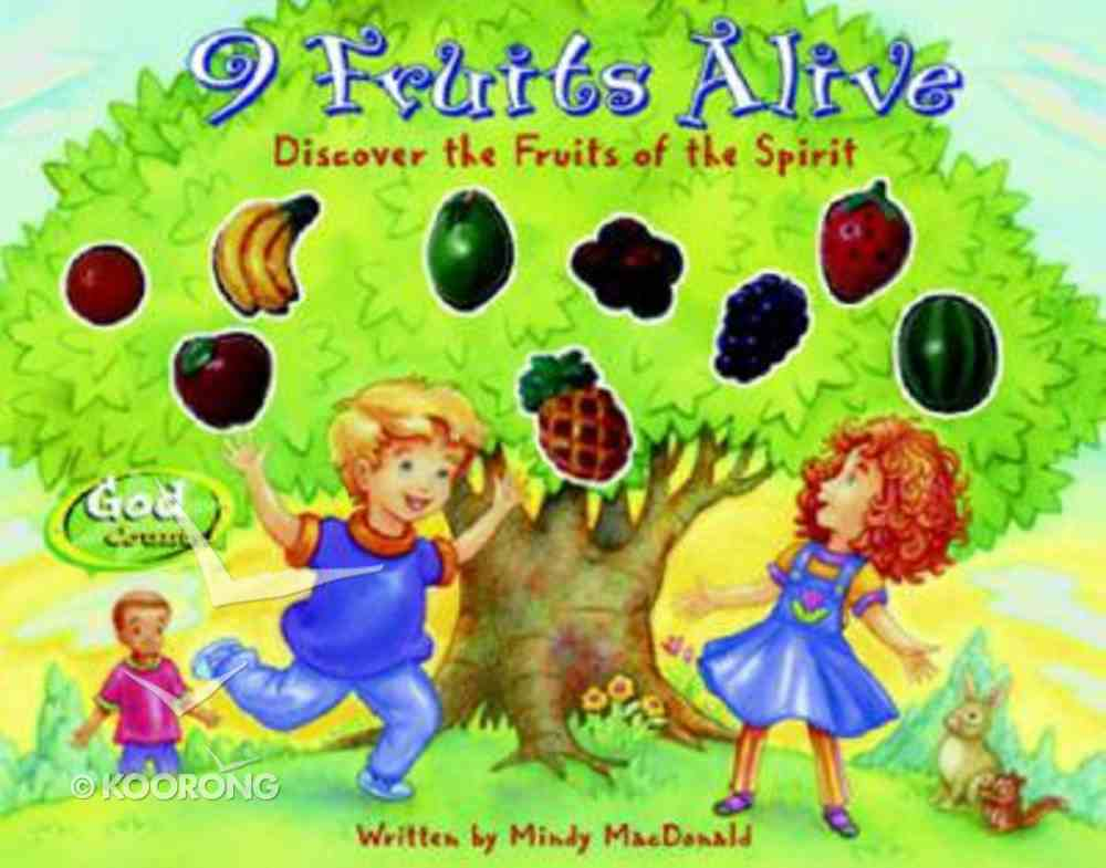 9 Fruits Alive (Godcounts Series) Board Book