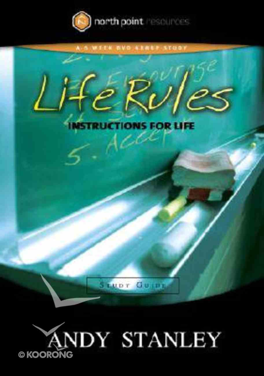 Life Rules (Study Guide) (North Point Resources Series) Paperback
