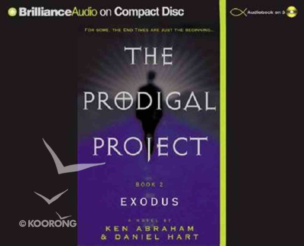 Exodus (#02 in Prodigal Project Audiobook Series) CD