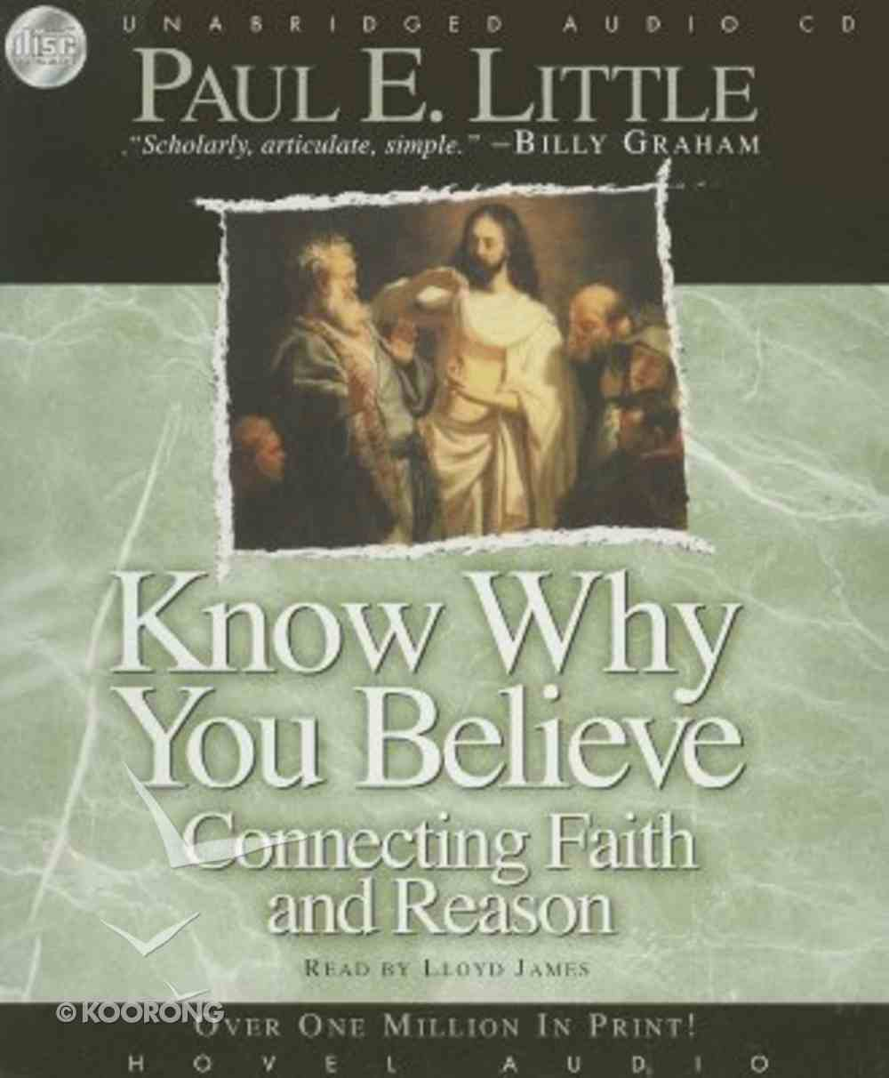 Know Why You Believe CD