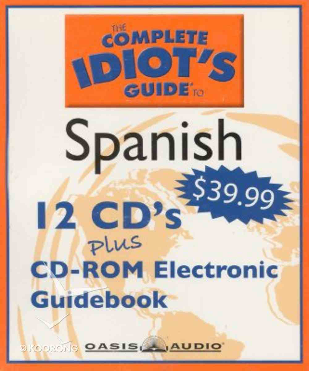 Complete Idiot's Guide to Spanish 2 CD
