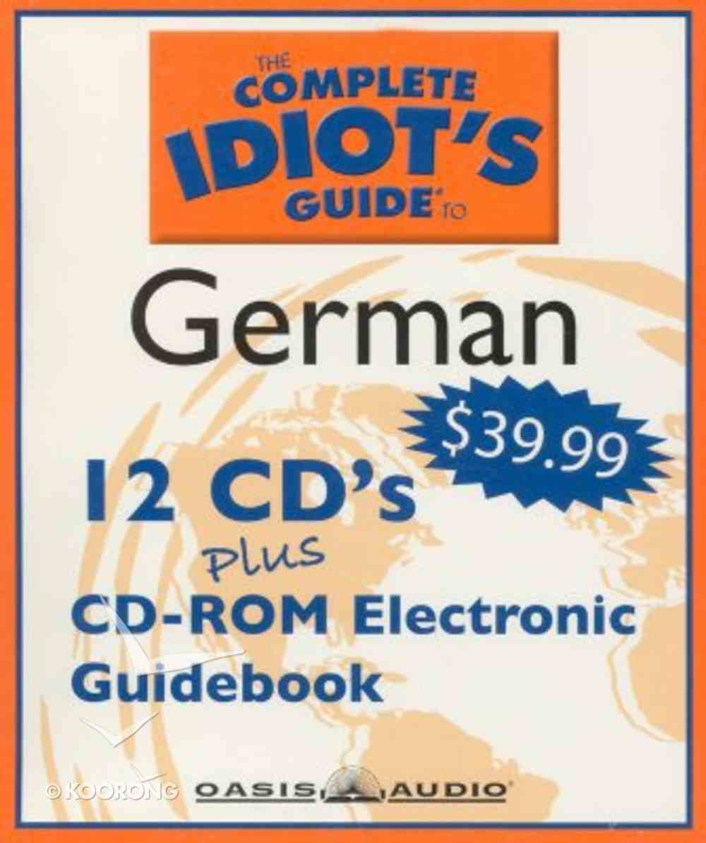 Complete Idiot's Guide to German 2 CD