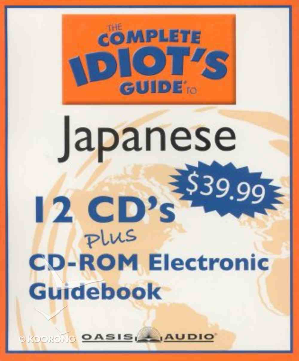 Complete Idiot's Guide to Japanese 2 CD