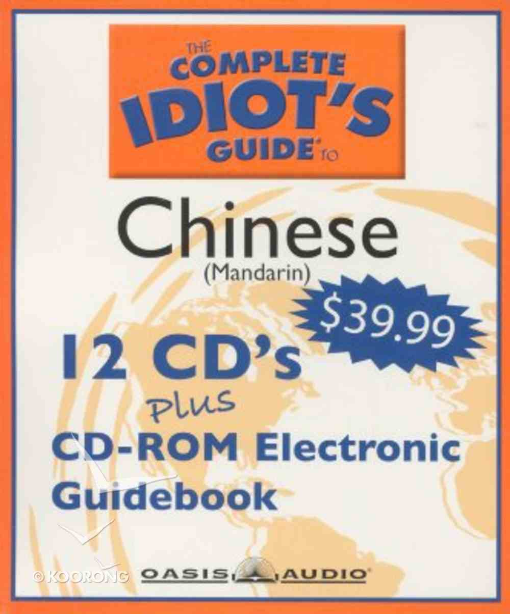 Complete Idiot's Guide to Mandarin Chinese 2 CD