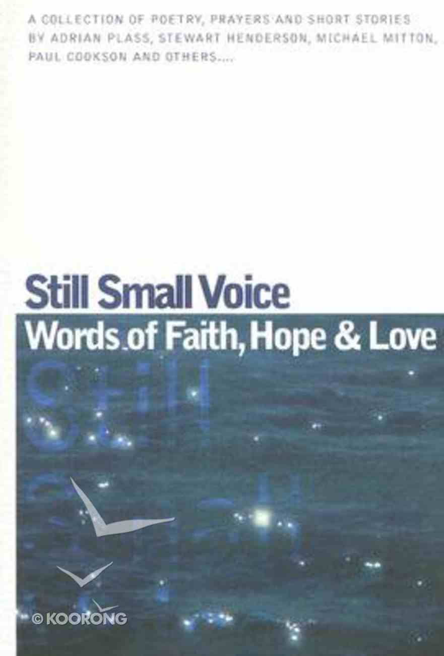 Still Small Voice Paperback