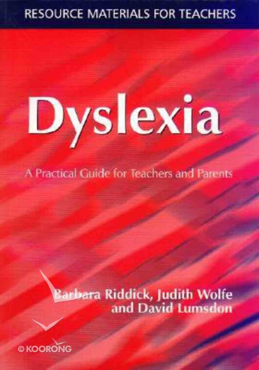 Dyslexia Paperback