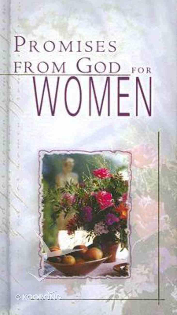 Promises From God For Women Hardback