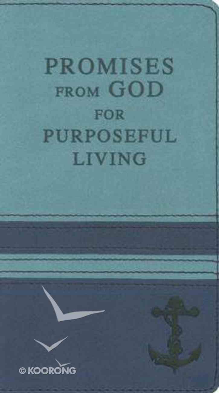 Promises From God For Purposeful Living Soft Tone Gift Book Imitation Leather