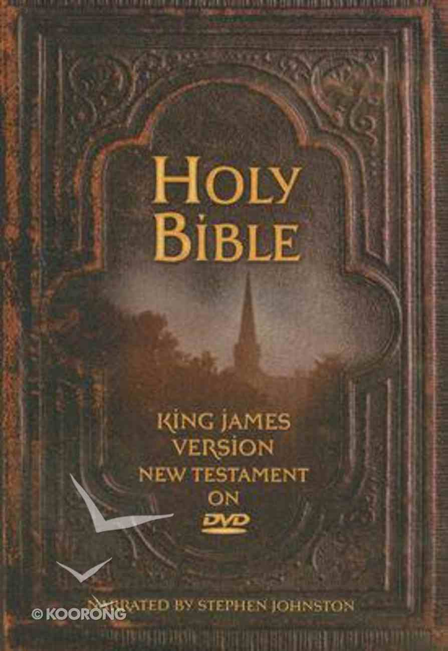 KJV Bible on DVD (New Testament) DVD