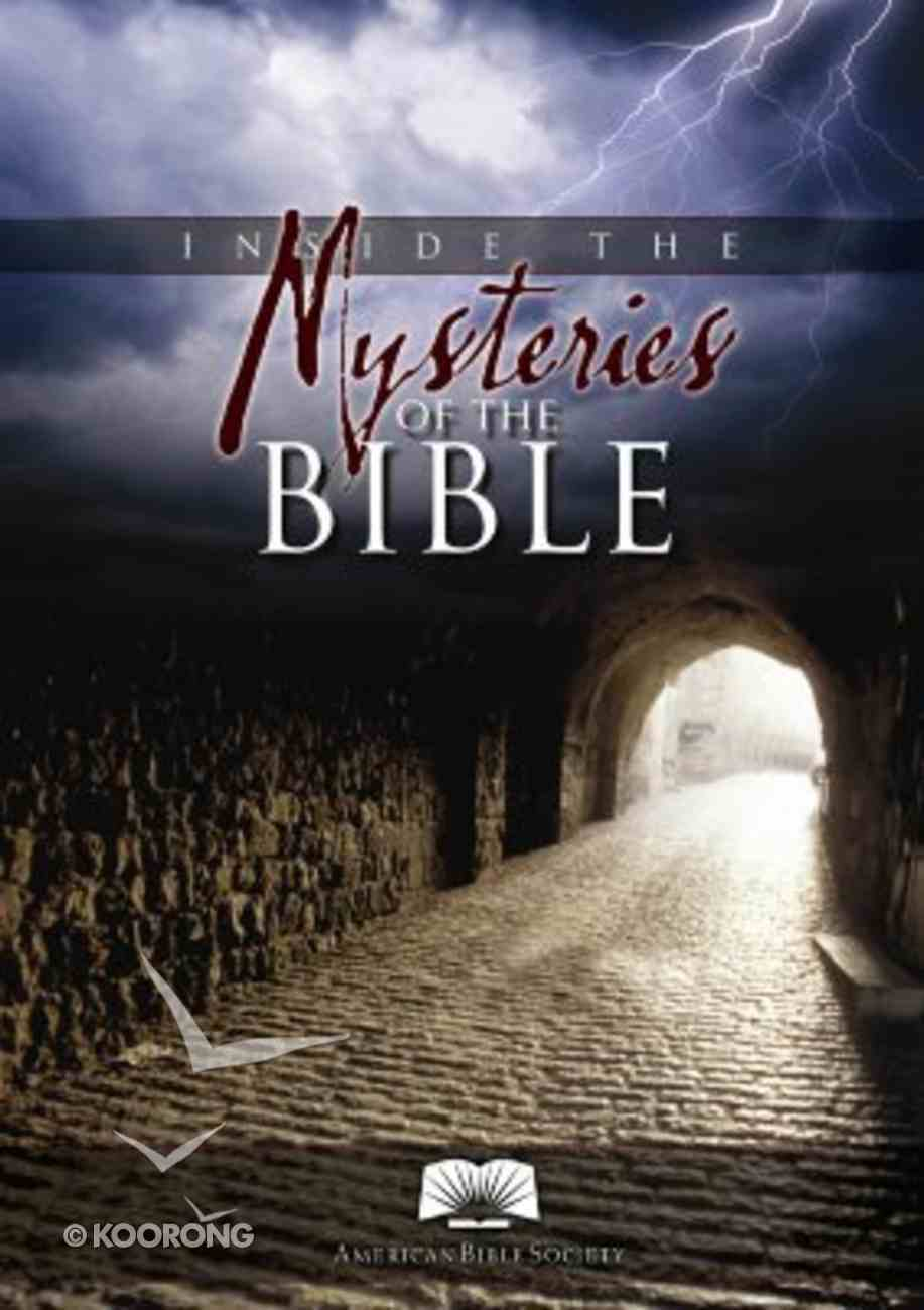 Inside the Mysteries of the Bible Paperback