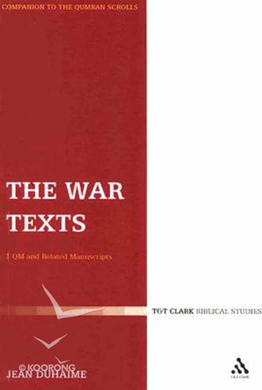War Texts Paperback