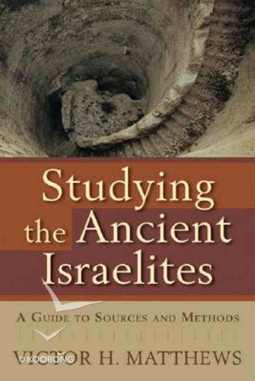 Studying the Ancient Israelites Paperback