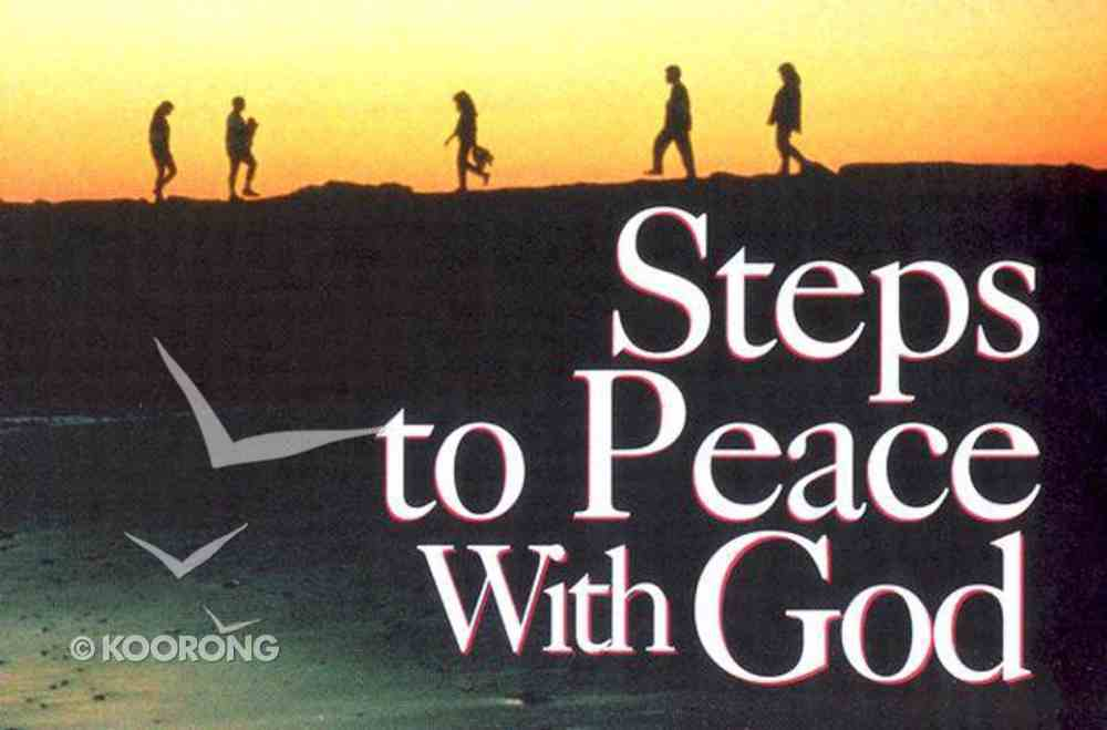 Steps to Peace (25 Pack) Booklet