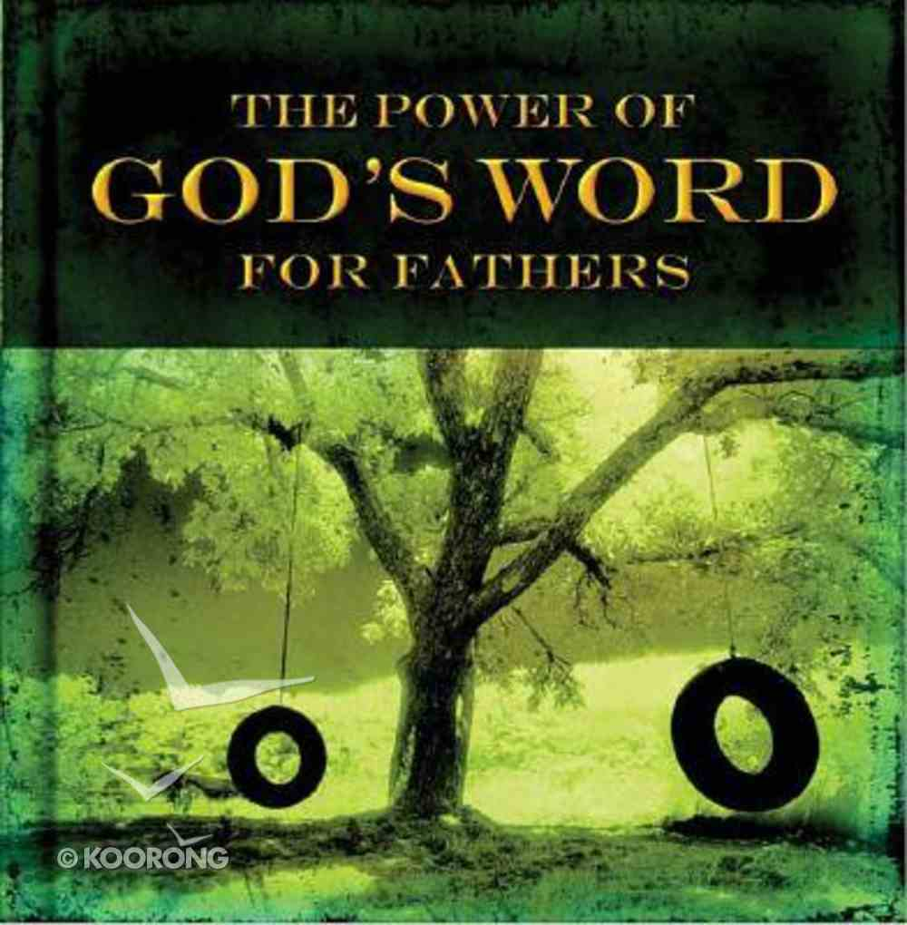 Power of God's Word For Fathers Hardback