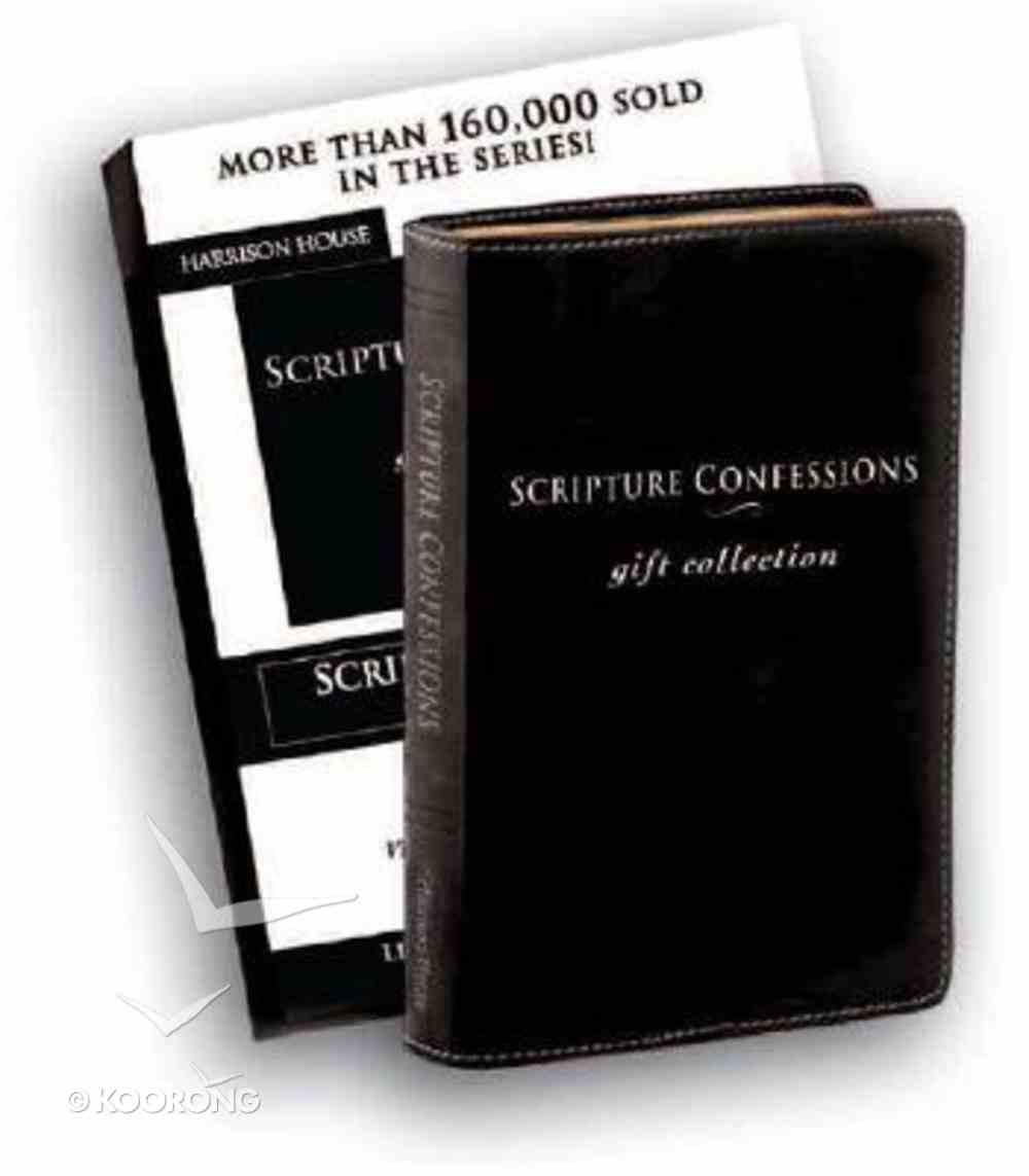 Scripture Confessions Gift Collection: Life-Changing Words of Faith For Everyday Genuine Leather