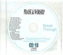Album Image for Rcm Volume C: Supplement 15 Breakthrough (2 Cds) (642-661) - DISC 1