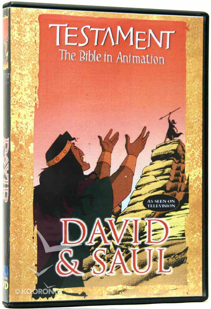 Testament: David & Saul DVD
