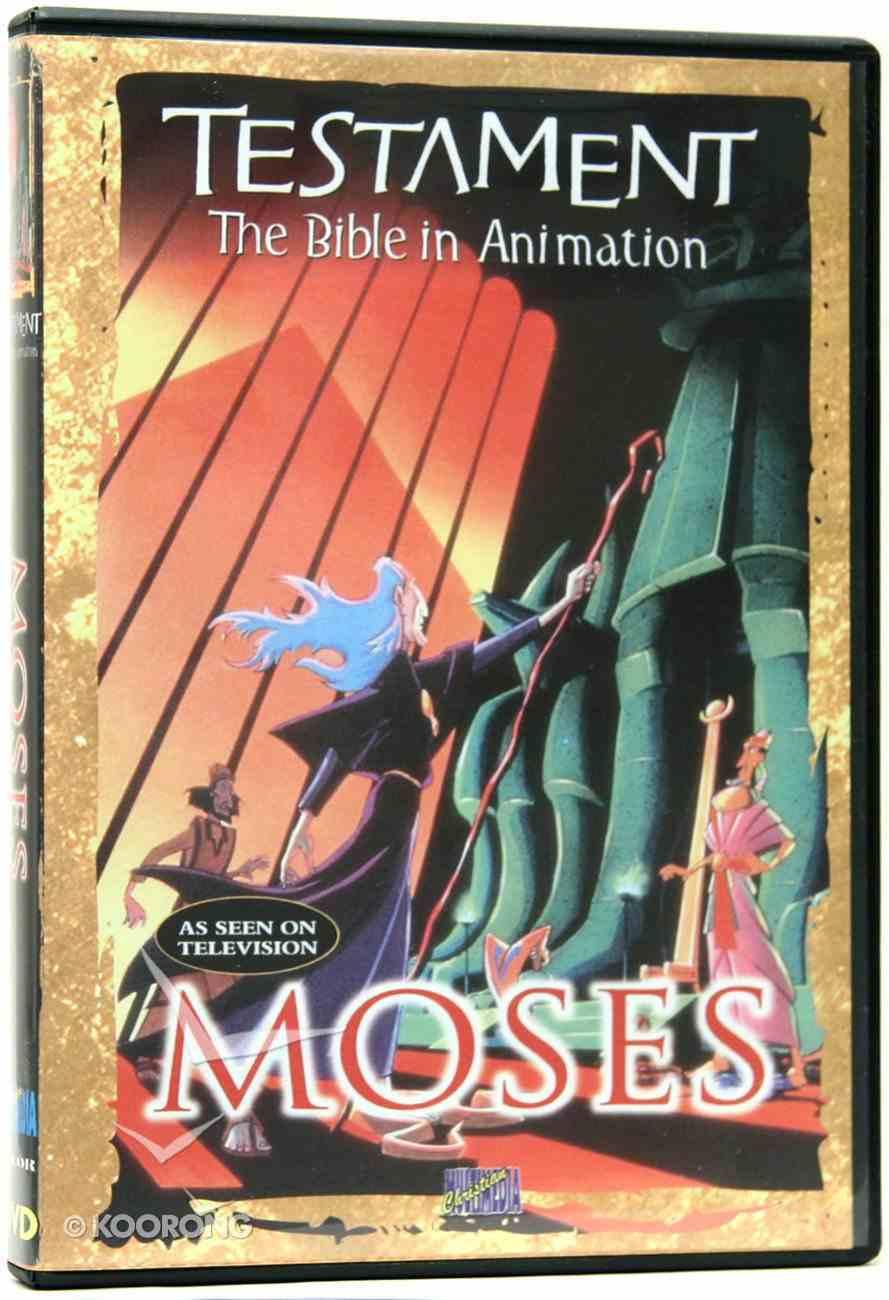 Testament: Moses DVD