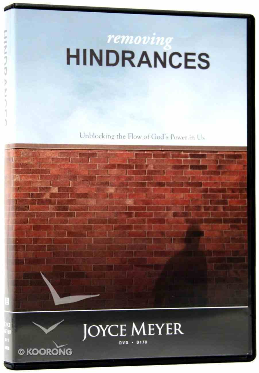 Removing Hindrances (1 Disc) DVD