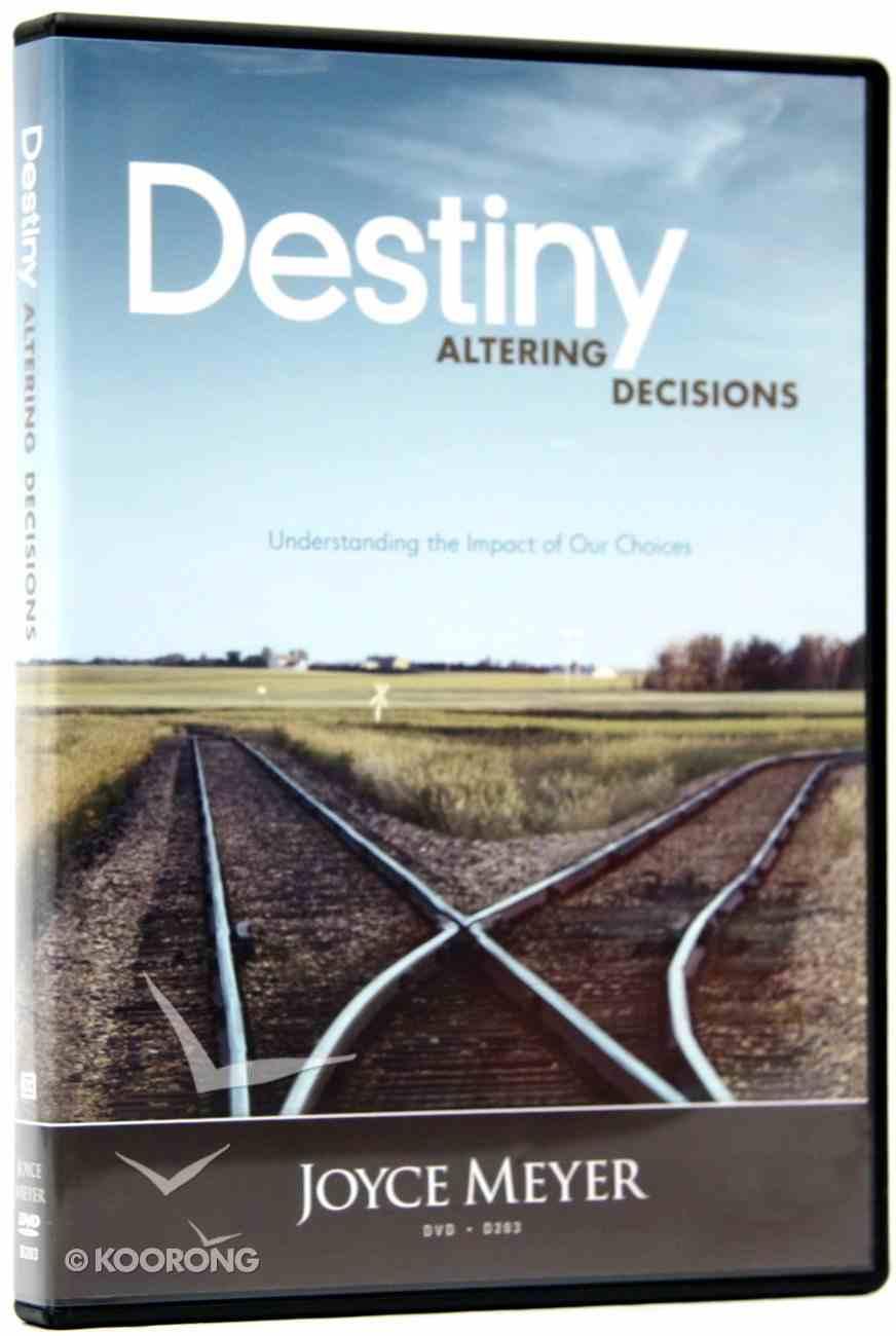 Destiny Altering Decisions (1 Disc) DVD
