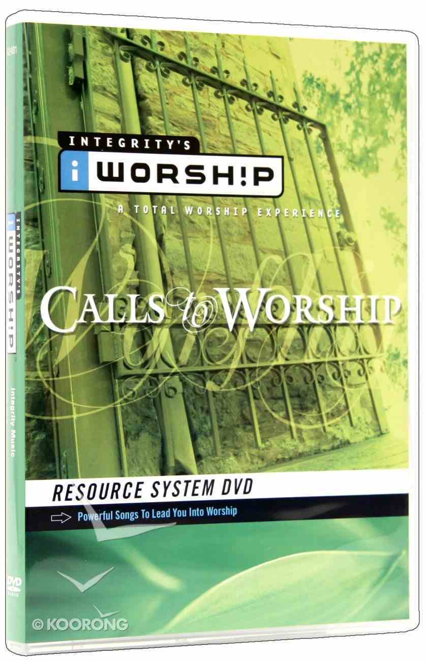 Iworship Resource: Calls to Worship DVD