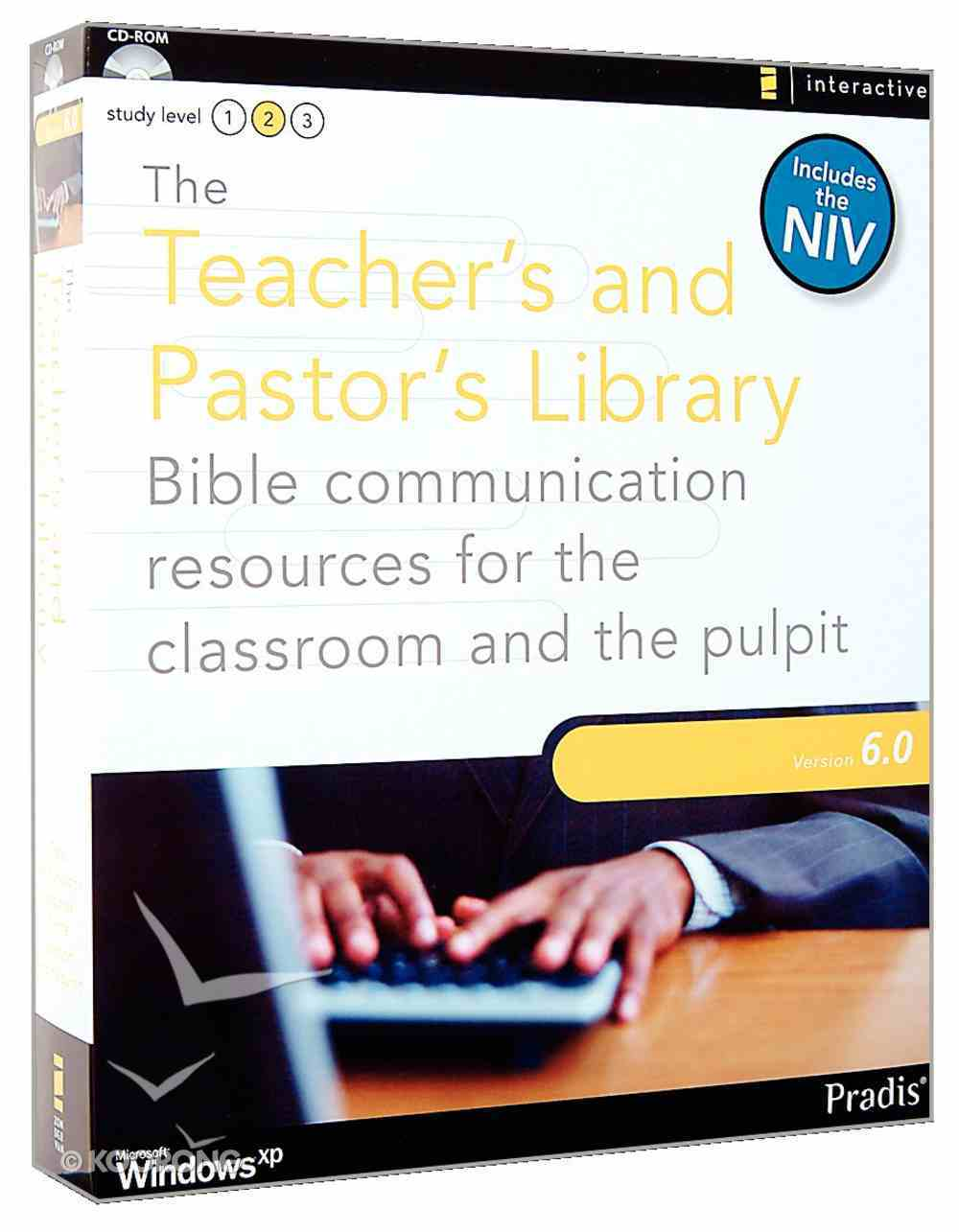 Teachers and Pastors Library 6.0 CDROM Win Includes the NIV CD-rom