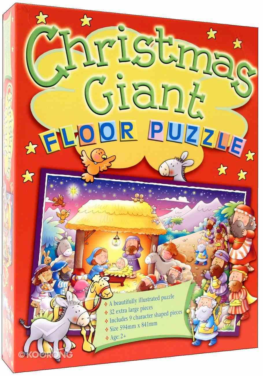 Giant Floor Puzzle: Christmas Box