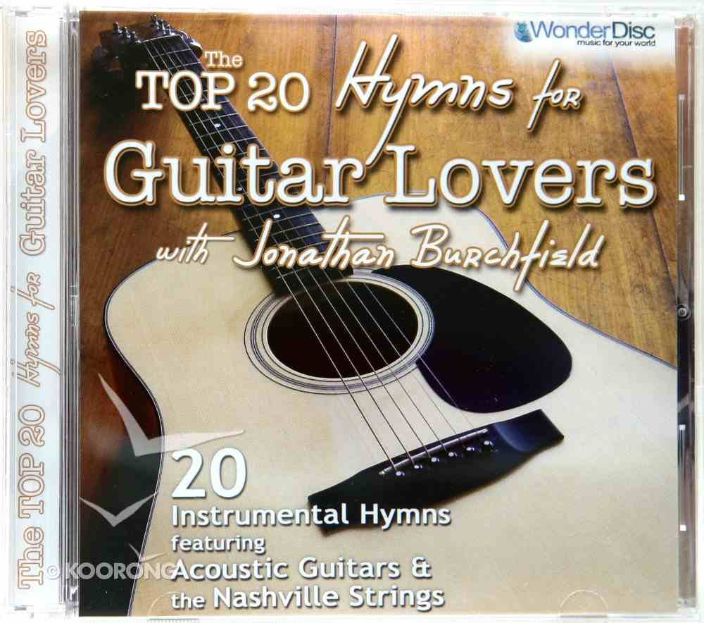 The Top 20 Hymns For Guitar Lovers CD