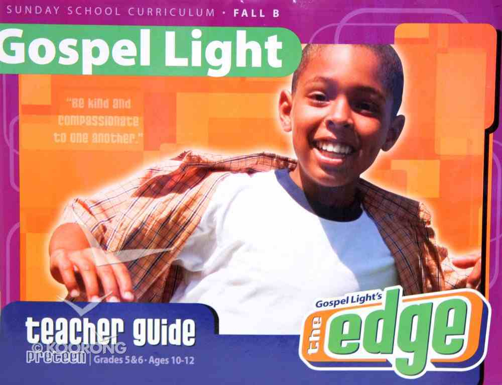 Gllw Fallb 2019 Grades 5&6 Teacher's Guide (Ages 10-12) (Gospel Light Living Word Series) Paperback