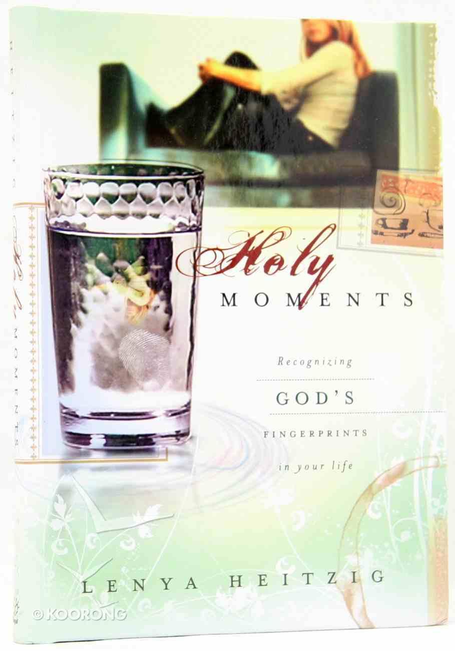 Holy Moments Hardback