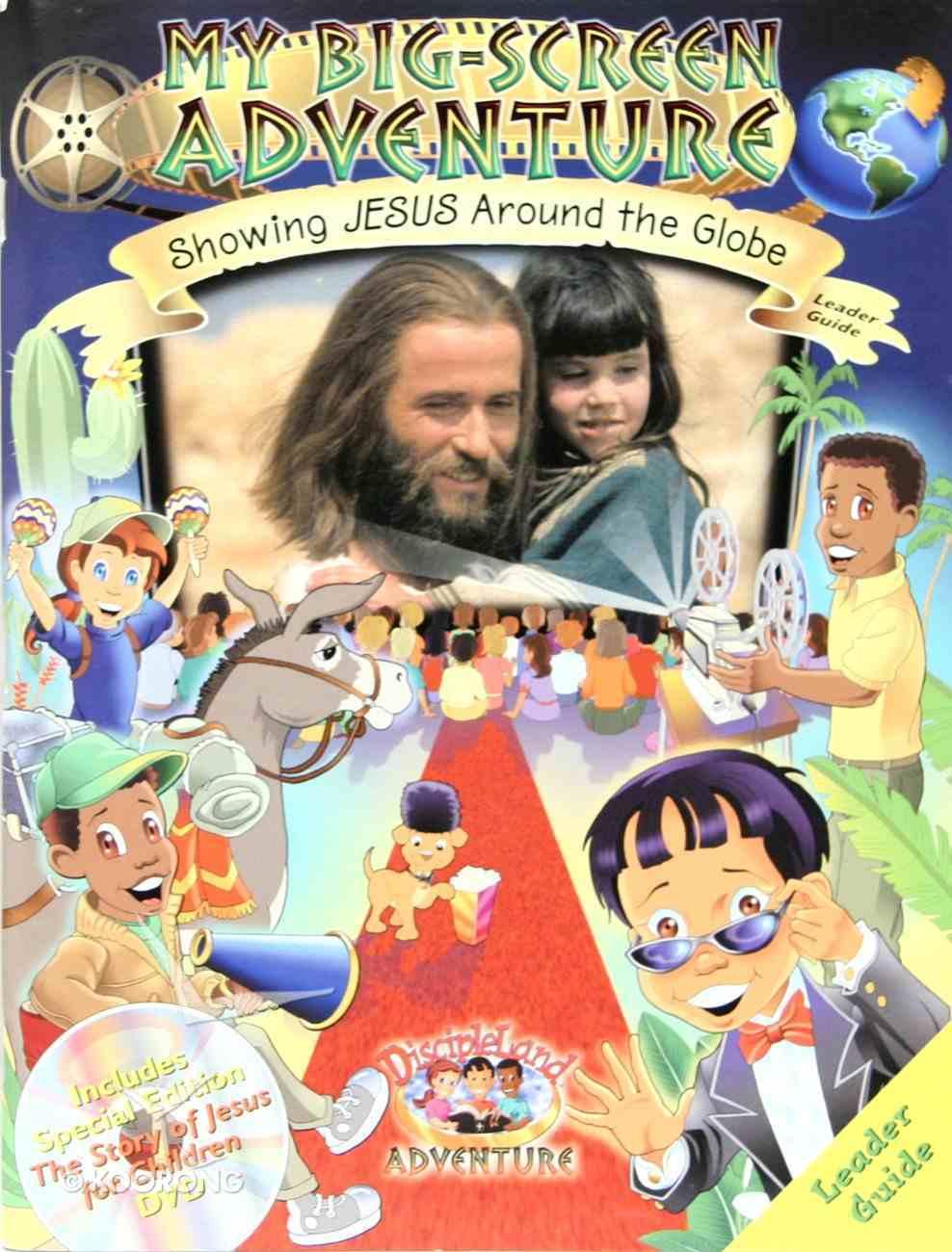 Dlc My Big-Screen Adventure Ages 6-12 (Leader) (Discipleland Curriculum Series) Paperback